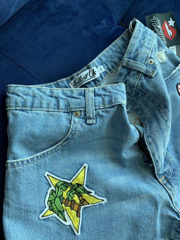 Jeans shorts Follow Us