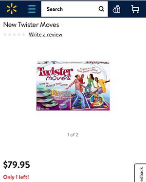 Twister moves exercise game kids toy dance children's board game for Sale in Cary, NC