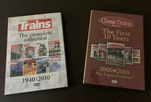 Trains Magazine - The Complete Collection and Classic Trains - The 1st Ten Years for Sale in Carnegie, PA