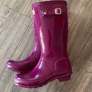 Hunter Rain Boots Kids Size 3/4 for Sale in Jurupa Valley, CA