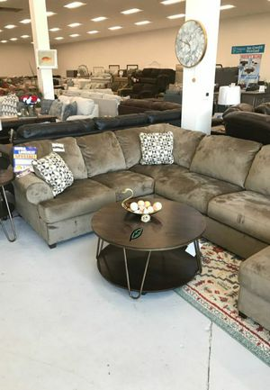 ☑ Special for Black Friday ‼ Jessa Place Dune RAF Sectional 29 for Sale in Columbia, MD