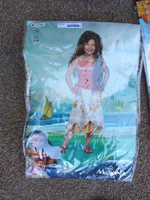 Moana Halloween costume for Sale in Anaheim, CA