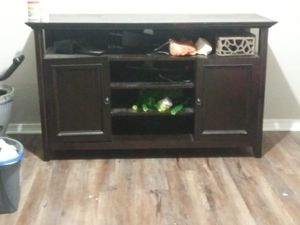 Dining buffet hutch table tv stand storage for Sale in Stone Mountain, GA