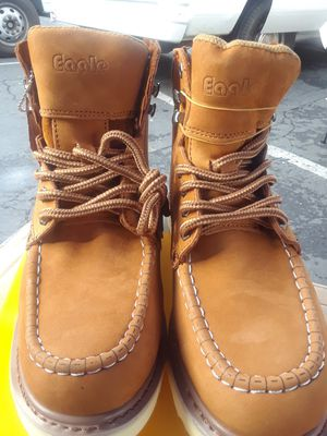 Eagle WORK boots coffee 618 for Sale in Riverside, CA