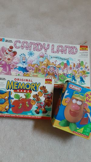 Candy Land, Memory & Mrs. Potato Head for Sale in Strongsville, OH