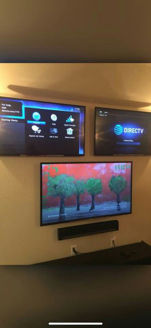 Flat-screen wall mount for Sale in Houston, TX