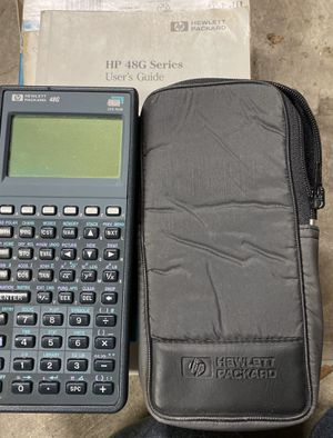 HP 48G Graphing Calculator for Sale in Tacoma, WA