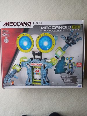 Meccanoid G15 Personal Robot. Box is open but never put together for Sale in Huntley, IL