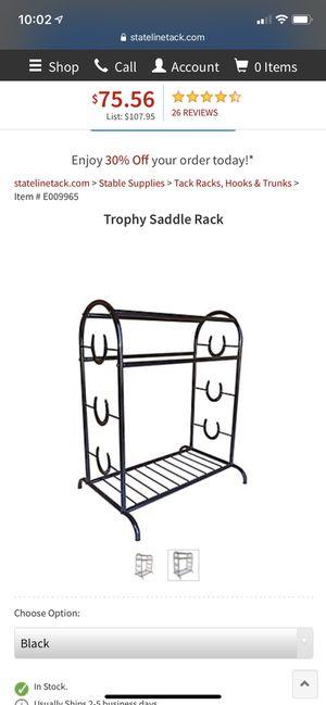 Saddle rack for Sale in Okeechobee, FL