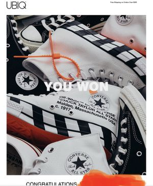 CONVERSE X OFF-WHITE CT70 for Sale in Philadelphia, PA