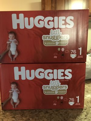 Huggies diapers size 1 for Sale in Bellevue, WA