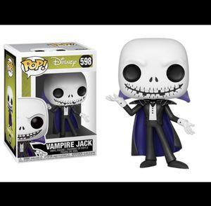 Vampire Jack Funko Pop for Sale in Wimauma, FL