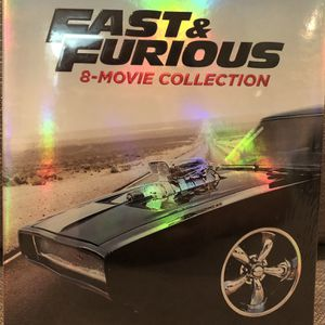 Fast & Furious 8-Movie Collection [Blu-ray + Digital] for Sale in La Habra, CA