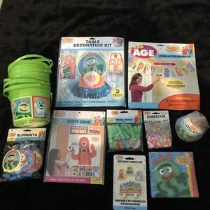 Yo Gabba gabba birthday party supplies for Sale in Ontario, CA