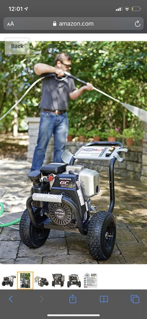 Simpson Cleaning MSH3125 MegaShot Gas Pressure Washer Powered by Honda GC190, 3200 PSI at 2.5 GPM, black for Sale in Lemont, IL