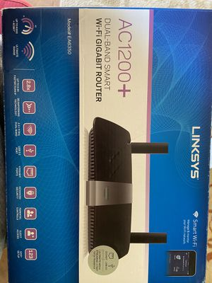 Linksys AC1200+ WiFi gigabit router for Sale in Independence, MN