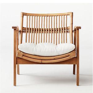 CB2 Noellie Rattan Chair for Sale in Anaheim, CA