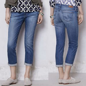 Adriano Goldschmied   Stevie Roll-Up Cropped Jeans- SZ 27 for Sale in Las Vegas, NV