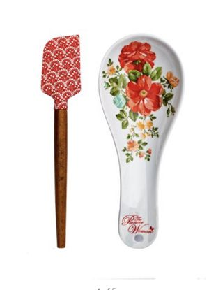 New! Pioneer Woman Spoon rest and Spatula Set for Sale in Westminster, CA
