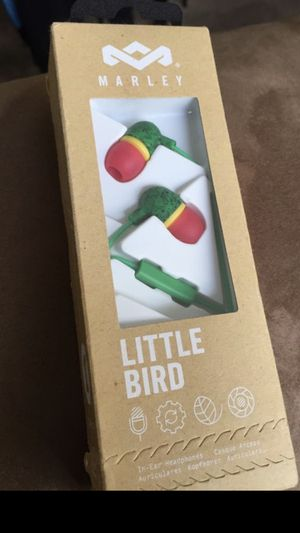 House of Marley Little Bird In-Ear Headphones (Rasta for Sale in San Diego, CA