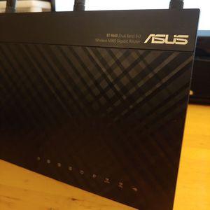 Bundle Deal: ASUS N66U N900 WIFI Router Dual Band Works Great! for Sale in Los Angeles, CA