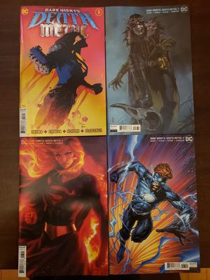 Death Metal #3 4 cover set (Robin King and More) for Sale in Woodbridge, VA