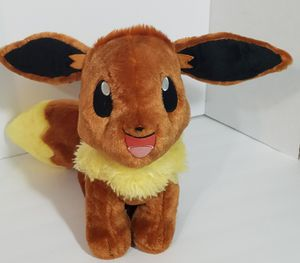 """Build A Bear Pokemon Eevee BABW Plush Toy Stuffed Animal 14"""" Clean & Soft for Sale in Dale, TX"""