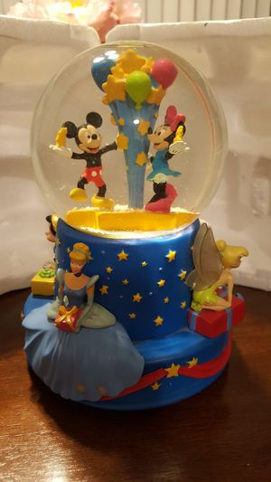 Musical Walt Disney 100th Birthday Water Globe for Sale in Inglewood, CA