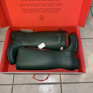 hunter original tall rain boots for Sale in Sugar Land, TX