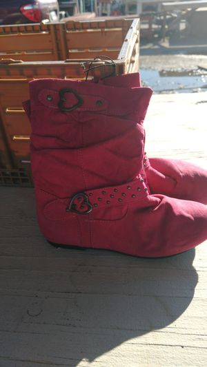 Girl pink boots for Sale in Norfolk, VA