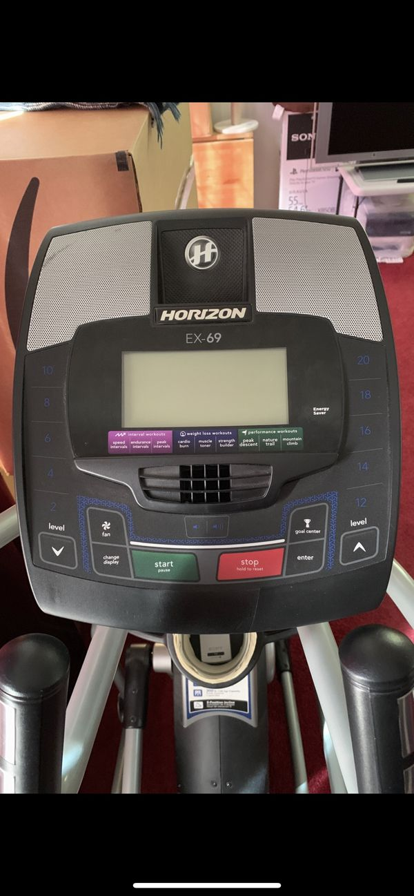 Horizon EX-69 Elliptical - Really good condition