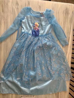 Elsa dress costume (kids size 9/10) for Sale in Chesapeake, VA