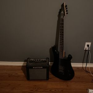 Guitar Black for Sale in Tomball, TX