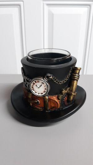 Yankee Candle Votive Holder Steampunk Gears Hat NIB Halloween for Sale in Artesia, CA