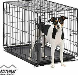 Used Med To Large Dog Cage/crate No Liner for Sale in Austin,  TX