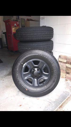 Bridgestone Duelers _set of 5 for Sale in Sanford, FL