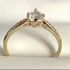 14k gold plated ring size 9 for Sale in Los Angeles, CA