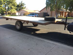 12 X 7.5 ' Utility deck over trailer W/spare 2 5/16 ball for Sale in Mesa, AZ