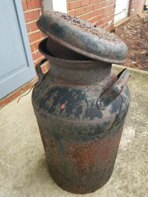 Antique Rusted Milk Can - Craft Project Farm Distressed for Sale in Gambrills, MD