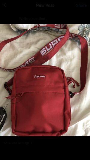 Red supreme side bags for Sale in Castro Valley, CA