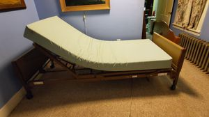 Electric bed complete ~ Invacare lightly used for Sale in Woburn, MA