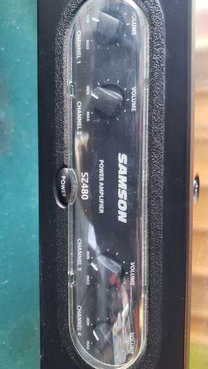 Samson power amp 2z480 for Sale in Lake Elsinore, CA
