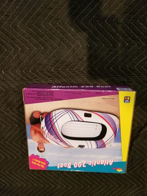 BLOW UP BOAT NEW in ORIGINAL BOX!!! for Sale in undefined