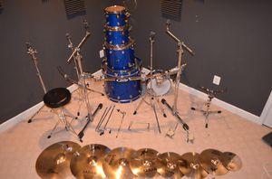 DW Performance Series 5 piece drum kit for Sale in Manassas, VA