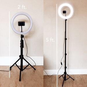 """10"""" inch LED Selfie Studio Photo Ring Light with Stand & Remote for Sale in Elk Grove, CA"""