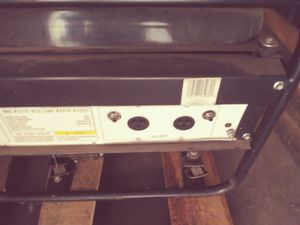 Generator, runs on gasoline good condition , will not ship, 225.00 OBO for Sale in Glendale, AZ