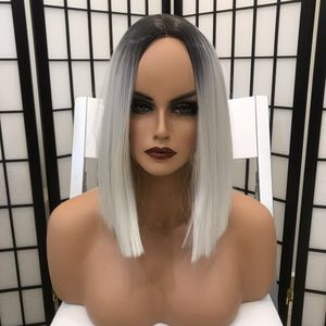 Used, Human hair blend Bob wig for Sale for sale  Brooklyn, NY