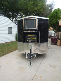 2018 refrigerated trailer/12×6/6 inch insulation/generator & air conditi1r , coolbot. Text {contact info removed} for Sale in Wichita,  KS