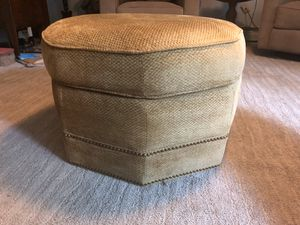 Octagon footstool or ottoman for Sale in North Royalton, OH