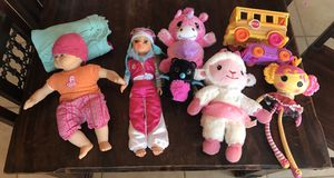 Lots of girls toys Americal Girl Lala Loopsy Doc McStuffins for Sale in Sanger, CA